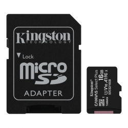 Tarjeta microSD Flash Kingston SDCS2/16GB Canvas