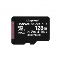 Tarjeta microSD Flash Kingston SDCS2/128GB Canvas