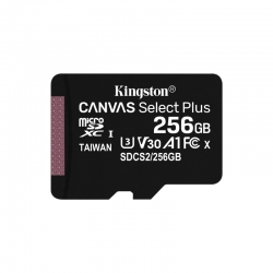 Tarjeta microSD Flash Kingston SDCS2/256GB Canvas