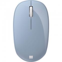 Mouse Microsoft Bluetooth 5.0 LE azul pastel.