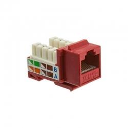 Conector Modular Teklink KEYMTL-6UL-RD Cat6 UL