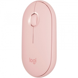Mouse Logitech Pebble M350 Bluetooth USB-rosa