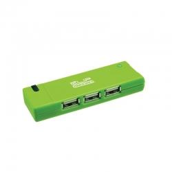 Concentrador Klip Xtreme 4 puertos USB 2.0 LED
