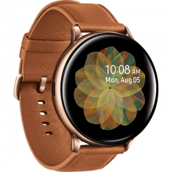 Samsung Smart Watch Cuero Café 4GB Bluetooth 5.0