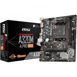 Tarjeta Madre MSI A320Ma Pro Max AM4 AMD A320 USB