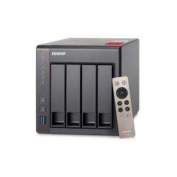 NAS QNAP TS-451+ 2G US SATA 6Gb/s 2GB 4 núcleos