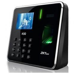 Reloj Biométrico ZKTeco K50 IP 800 Huellas