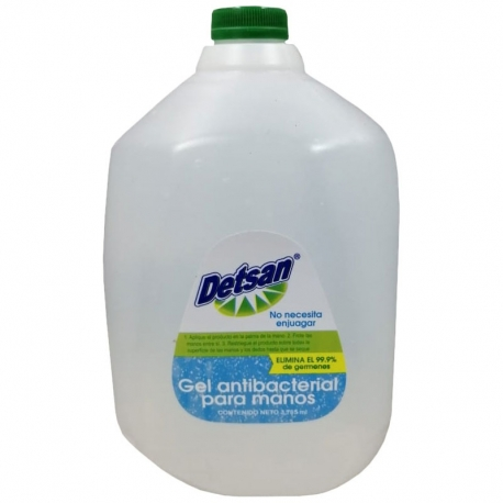 Galon Alcohol en gel antibacterial DETSAN