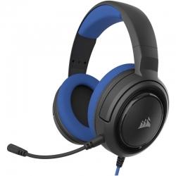 Audífonos Gaming Corsair Hs35 Stereo 3,5mm Blue