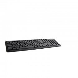 Teclado Xtech XTK-092E estándar English USB Black