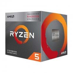 Procesador AMD Ryzen 5 3400G Am4 3.6Ghz 65W 4MB
