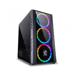 Torre Media Gamer Pcyes Saturn ATX usb3.0 usb2.0