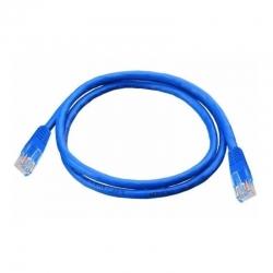Patch Cord Utp Us Cat5E 7 Pies (21Cm) Color Azul