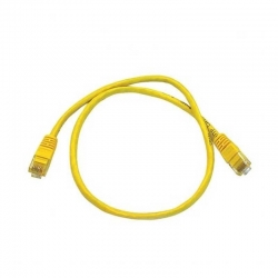 Patch Cord Utp La Cat5E 2 Pies (60Cm) Amarillo