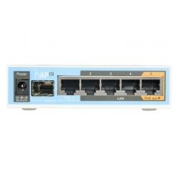 Router WiFi Mikrotik hAPac 2.4/5GHz 5p GigaE 1p FO