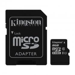 Tarjeta de Memorias Flash Kingston SDC10G2 8GB