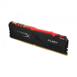 Memoria RAM DIMM HyperX Fury RGB Ddr4 16Gb 2666MHz