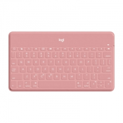 Teclado Logitech Keys to go Bluetooth - rosa