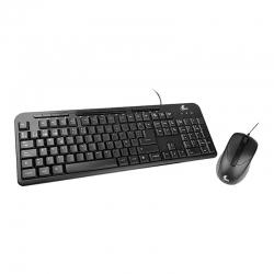 Combo Teclado & Mouse Xtech XTK-301S Español-Black