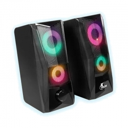 Parlante Xtech xts-130 Incendo Gaming Led luces