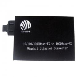 Convertidor de medios Teklink 10/100/1000Mbps Dual