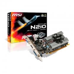 Tarjeta Gráficas MSI N210-MD1G/D3 1GB GDDR3-PCIe