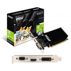 Tarjeta Gráficas MSI GT 710 2GD3 LP 2GB DDR3 HDMI