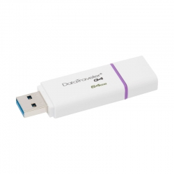 Memoria USB Kingston DT G4 64GB USB 3.0-violeta