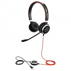 Headset Jabra Duo Evolve 40 Stereo Uc USB 3,5mm