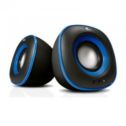 Parlante Xtech Spekter 2.0 canales 6W 3,5mm Azul