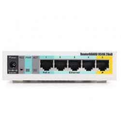 Router WiFi Mikrotik RB951Ui-2HnD 5P Mega USB PoE