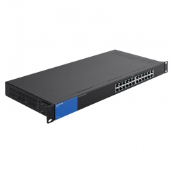 Switch Rack Linksys LGS124 24 puertos-ca 100/230 V