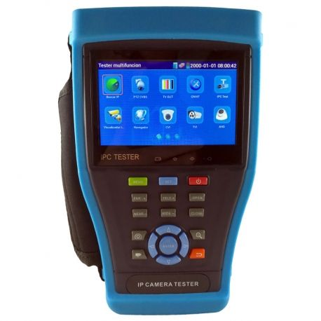 Tester CCTV IPC4300H IP/HD-TVI/CVBS WiFi Táctil