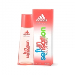Colonia Adidas Fun Sensation Edt 50ml para Mujer