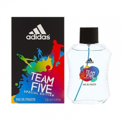 Colonia Adidas Team Five Edt 100ml para hombre