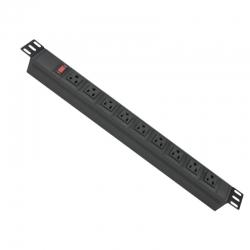 Regleta PDU Iflux de 9 puertos con protector