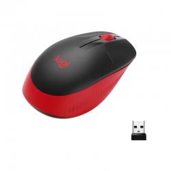 Mouse Logitech M190 inalámbrico conector USB Rojo
