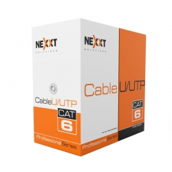 Cable Nexxt Utp 305 m-RJ-45 Cat6, U/UTP CMR type