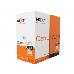 Cable Nexxt Bulk Cable Utp 305m RJ-45 -Blue-Cat6