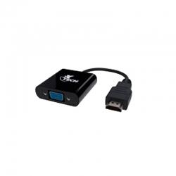 Adaptador Xtech XTC-363 HDMI Type A VGA-Black