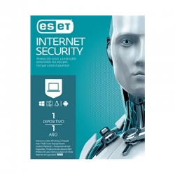 Antivirus ESET Internet Security Licencia 1 año