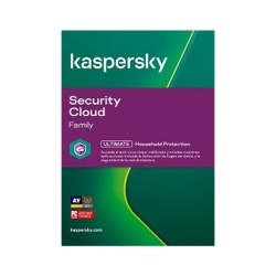 Antivirus Kaspersky Family Security Cloud 1 Año