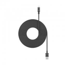 Cable de carga Mophie USB tipo C 3Mts - Negro