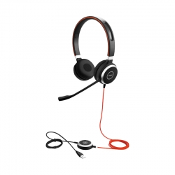 Headsets Jabra Evolve 40 Uc Stereo conector 35mm