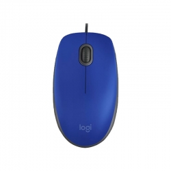 Mouse Logitech M110 Silent óptico cableado USB