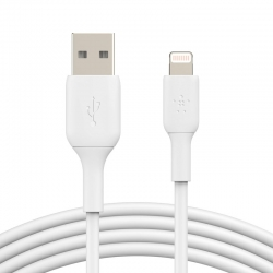 Cable de carga Belkin Boost Lightning a USB-A 1m