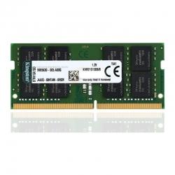 Memoria RAM Kingston 16GB Ddr4 2666Mhz Cl19 1Rx8