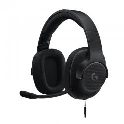 Audífonos Logitech G433 7.1 cableado - negro