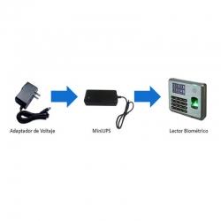 Mini UPS Lectores Biométricos 12V 1.9A 4 horas