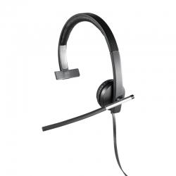 Headset Logitech H650E cableado conexión USB Mono